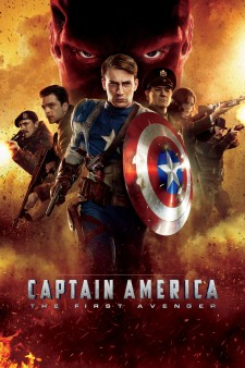 Affiche du film Captain America 1: First Avenger