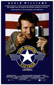 Affiche du film Good morning, Vietnam