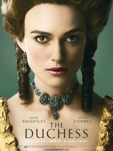 Affiche du film The Duchess