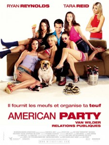 American Party, Van Wilder relations publiques