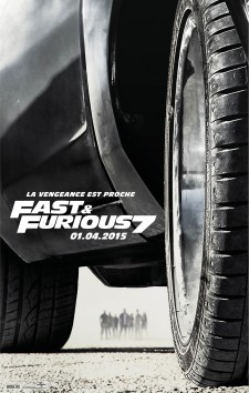 Affiche du film Fast and Furious 7
