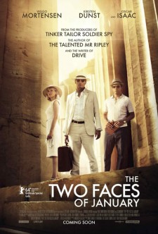 Affiche du film The Two Faces of January