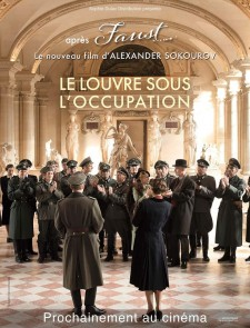 Affiche du film Francofonia : le Louvre sous l'occupation