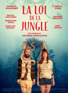 Affiche du film La Loi de la jungle