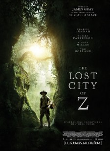 Affiche du film The Lost City of Z