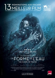 affiche du film La Forme de l'eau - The Shape of Water