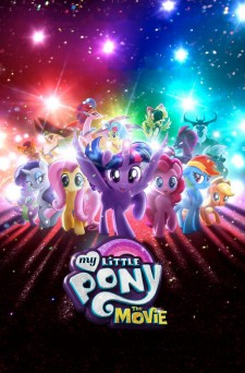Affiche du film My Little Pony : Le film