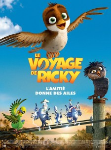 Affiche du film Le Voyage de Ricky