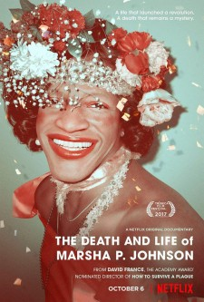 affiche du film The Death and Life of Marsha P. Johnson
