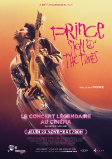 Affiche du film Prince - Sign O' the times
