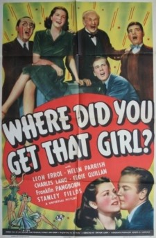Where Did You Get That Girl?