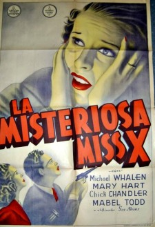 The Mysterious Miss X
