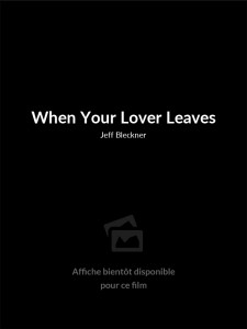 When Your Lover Leaves