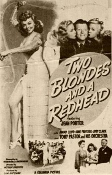Two Blondes and a Redhead