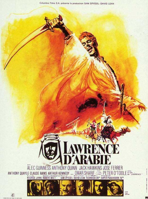 Affiche du film Lawrence d'Arabie
