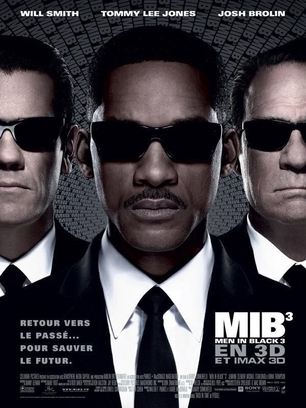 Affiche du film Men in Black III