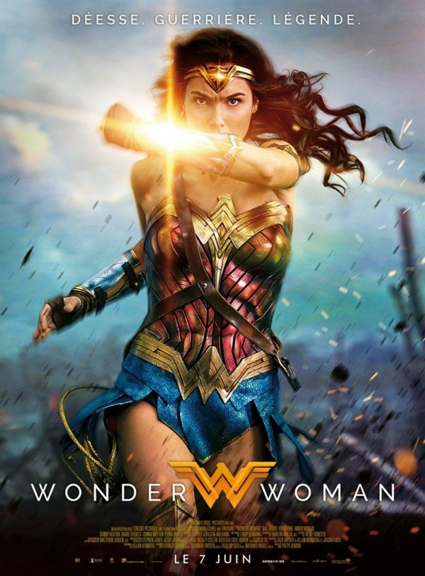 Affiche du film Wonder Woman