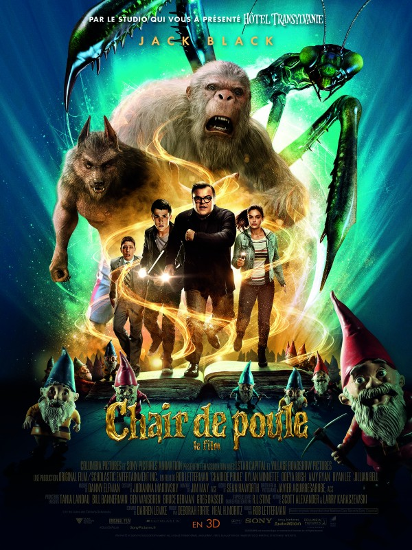 Affiche du film Chair de poule