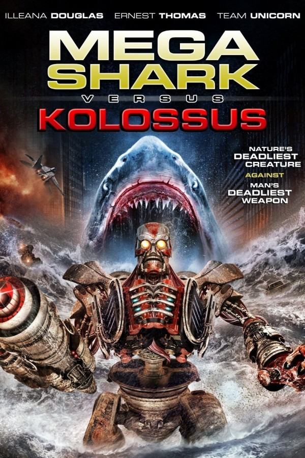 Affiche du film Mega Shark vs. Kolossus