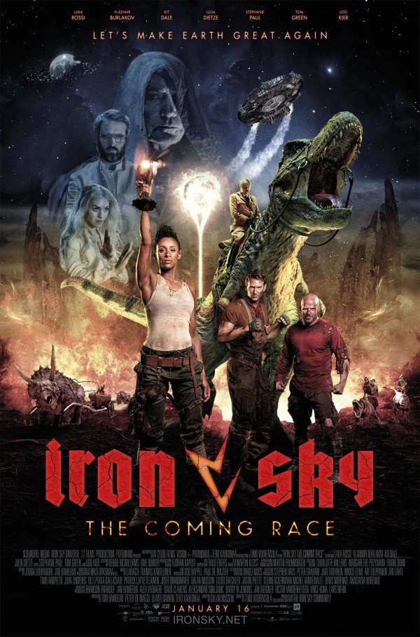 Affiche du film Iron Sky the Coming Race