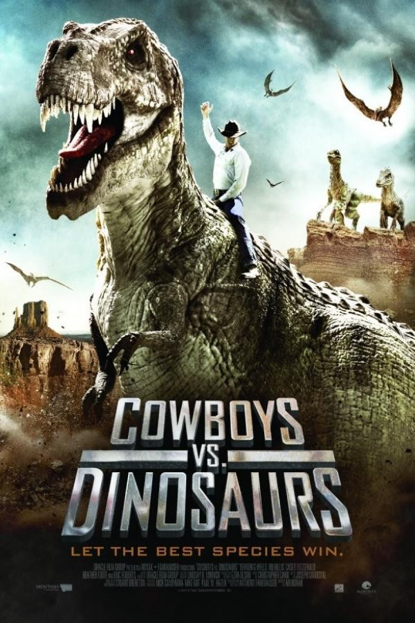 Affiche du film Cowboys vs. Dinosaurs