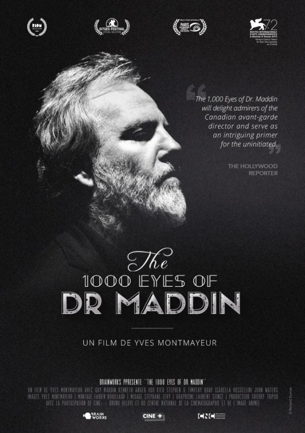 Affiche du film The 1000 eyes of Dr Maddin