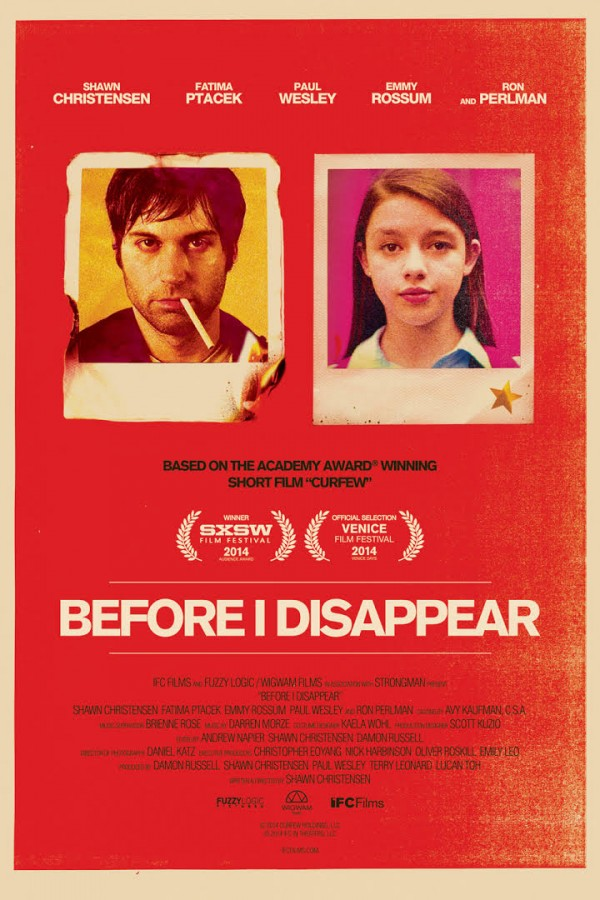 Affiche du film Before I disappear