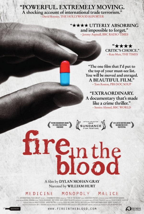 Affiche du film Fire in the Blood