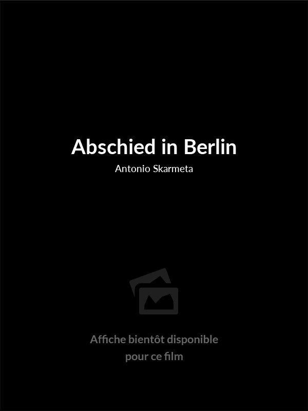 Affiche du film Abschied in Berlin