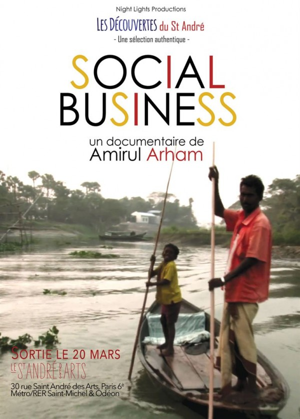 Affiche du film Social Business