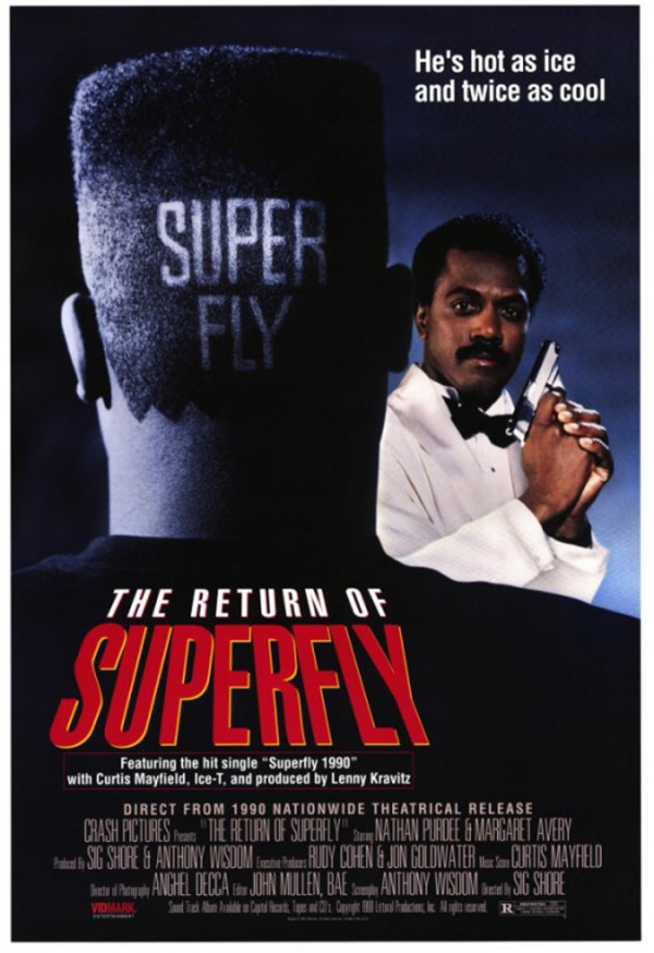 Affiche du film The Return of Superfly
