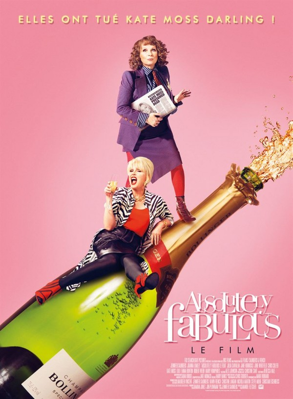 Affiche du film Absolutely Fabulous: The Movie
