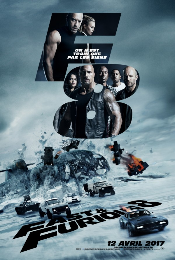 Affiche du film Fast and Furious 8