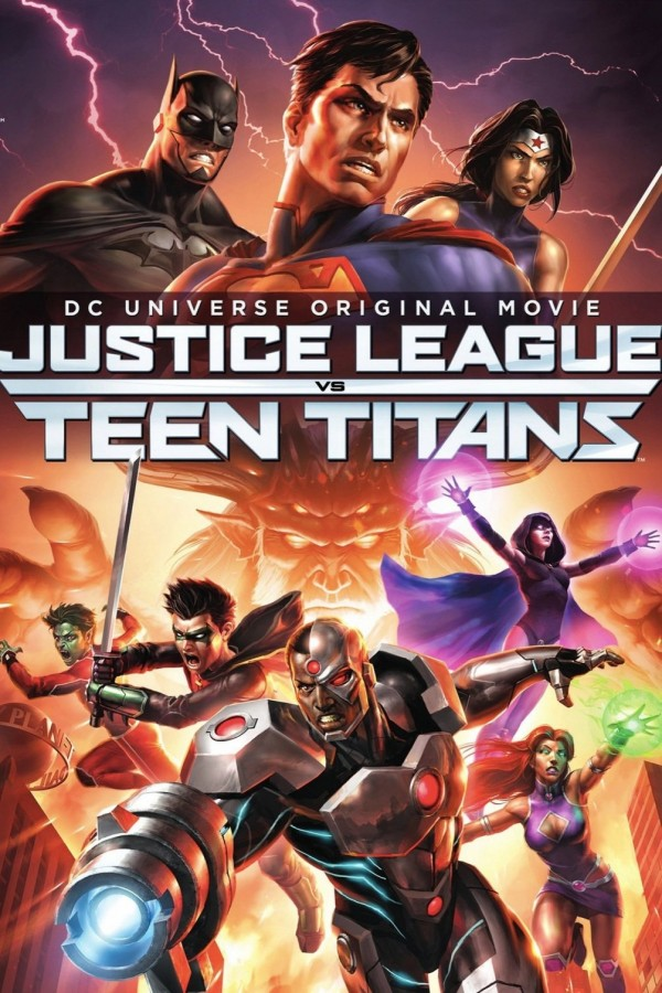 Affiche du film Justice League vs. Teen Titans