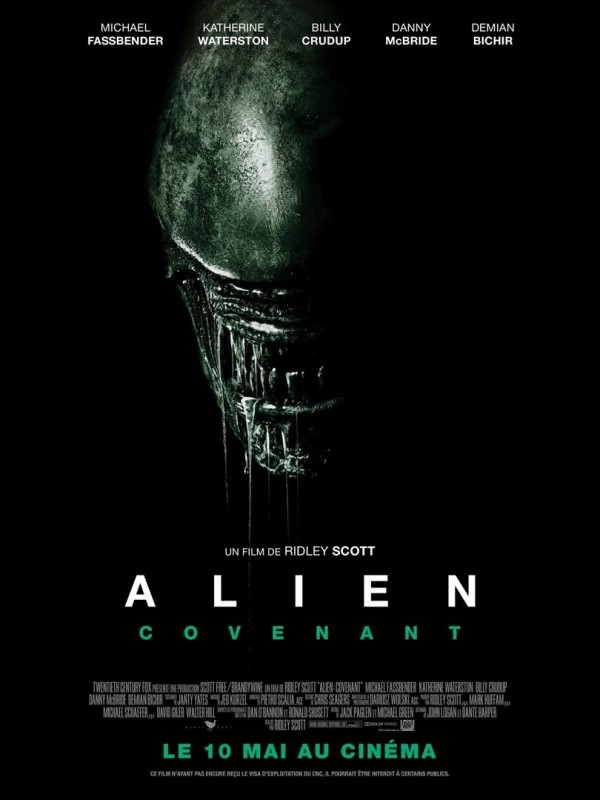 Affiche du film Alien : Covenant