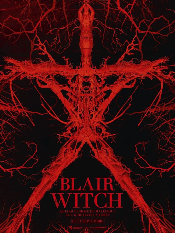 Affiche du film Blair Witch