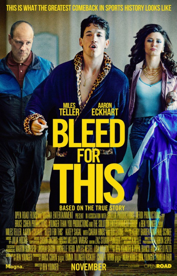 Affiche du film Bleed for This