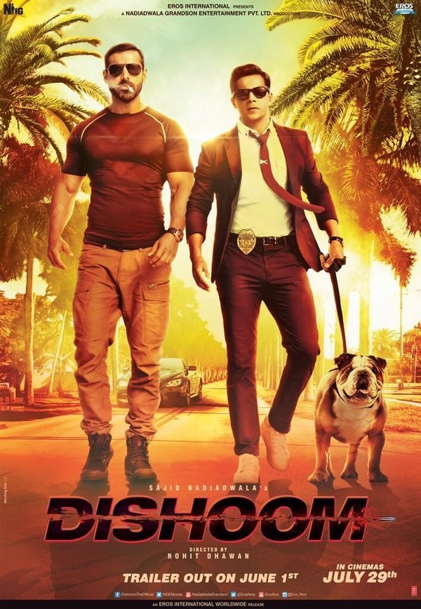 Affiche du film Dishoom