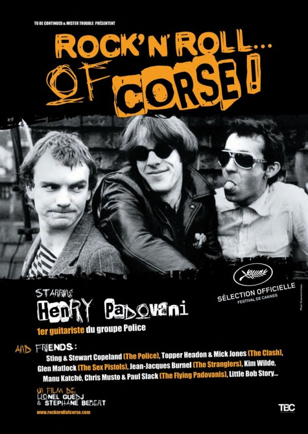 Affiche du film Rock'n'roll... Of Corse !