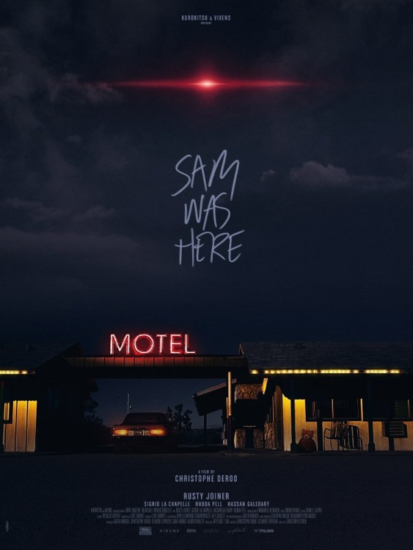 Affiche du film Sam was here