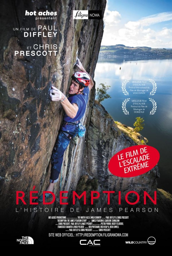 Affiche du film Rédemption, l'histoire de James Pearson