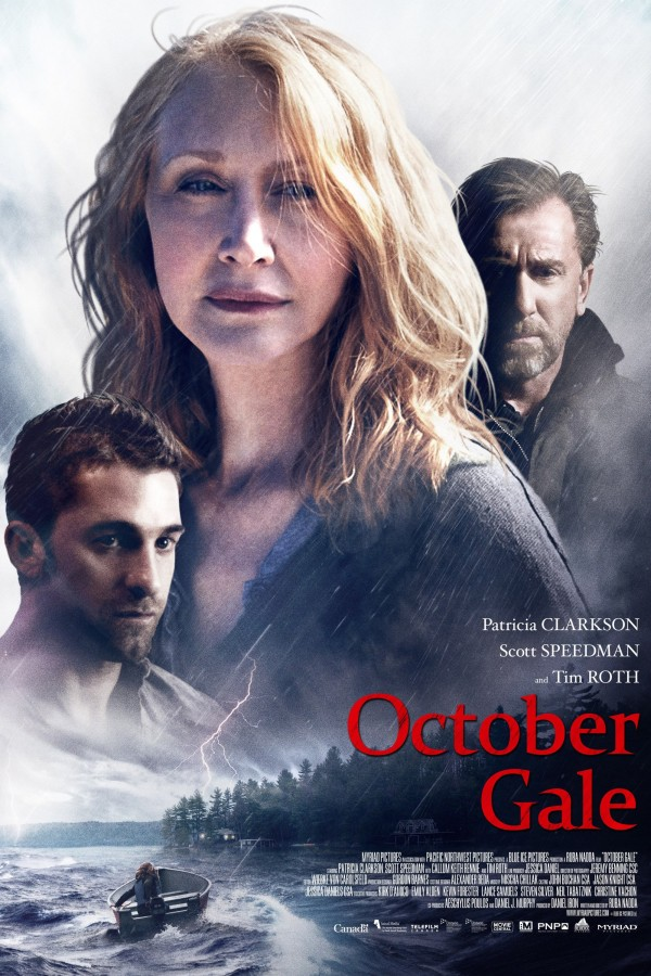Affiche du film October Gale