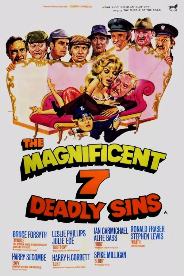 Affiche du film The Magnificent Seven Deadly Sins