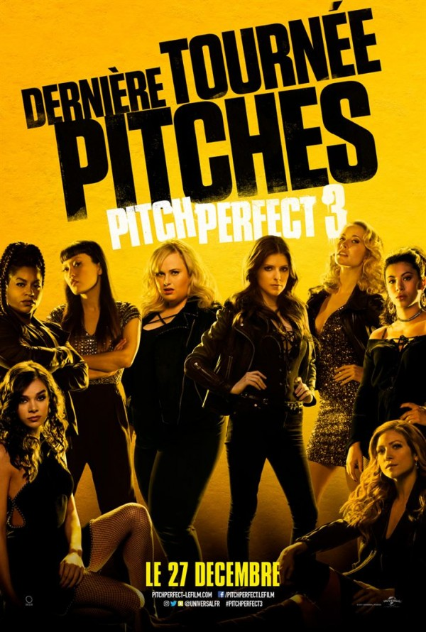 Affiche du film Pitch Perfect 3