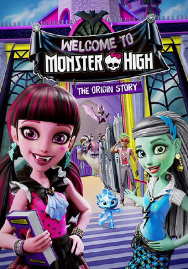 Affiche du film Monster High : Bienvenue à Monster High