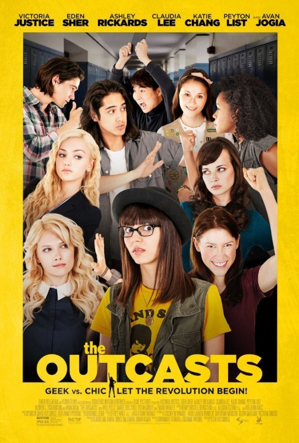 Affiche du film The Outcasts
