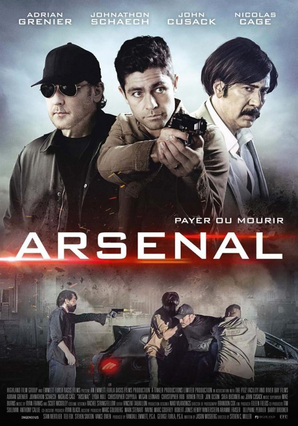 Affiche du film Arsenal