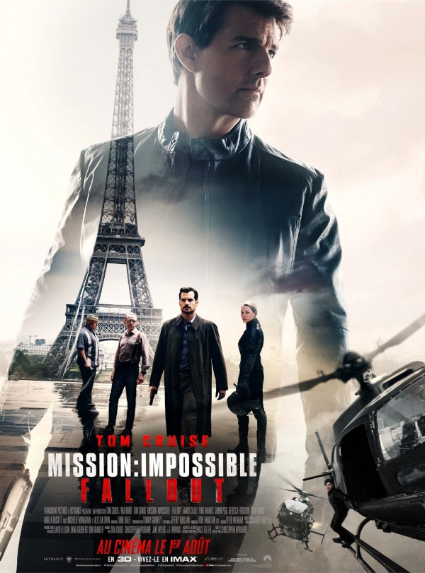 Affiche du film Mission : Impossible 6