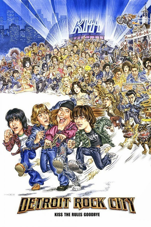 Affiche du film Detroit Rock City