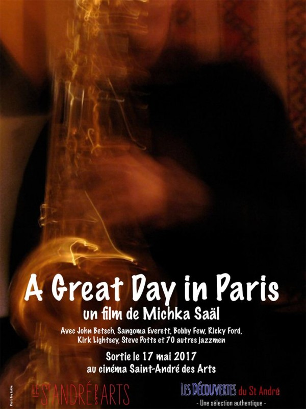 Affiche du film A Great Day in Paris